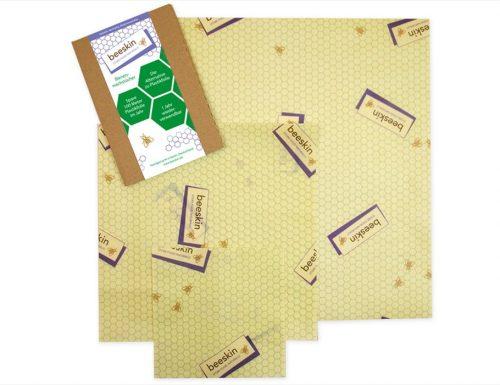 Set van 3 bijenwasdoeken