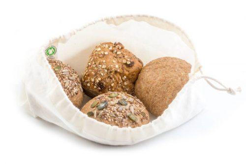 Broodzak van biokatoen